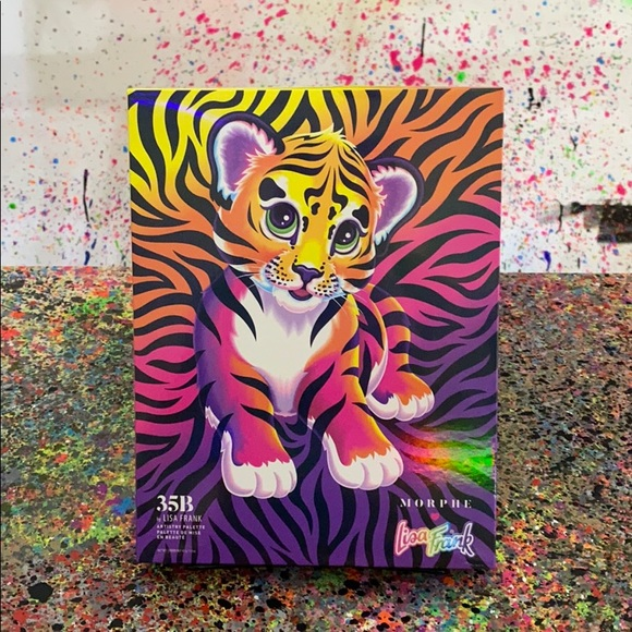 Morphe Makeup Nwt Morphe X Lisa Frank 35b Artistry Palette Poshmark Grab your fit only today! nwt morphe x lisa frank 35b artistry palette